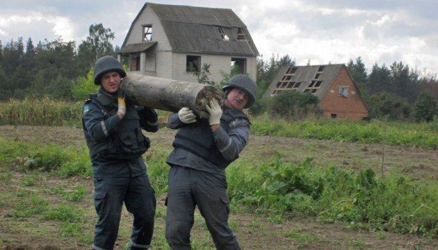 Взрывы в Калиновке: ГСЧС обещает полное разминирование до конца ноября