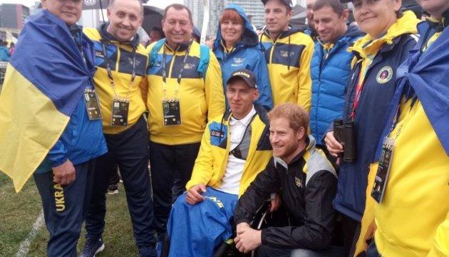 Британський принц Гаррі привітав українську збірну на Іграх нескорених