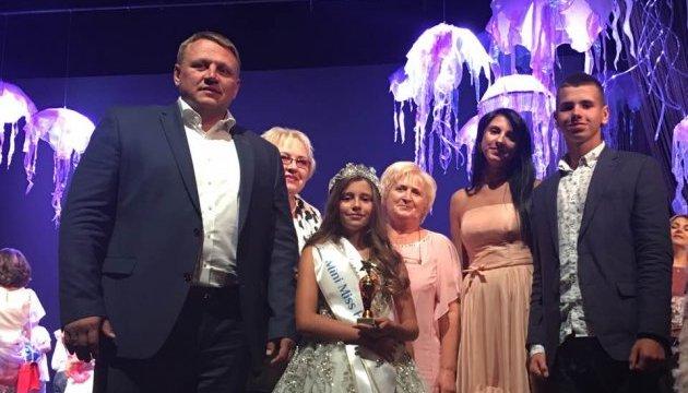 9-летняя украинка получила титул Мини Мисс Европа на известном конкурсе красоты