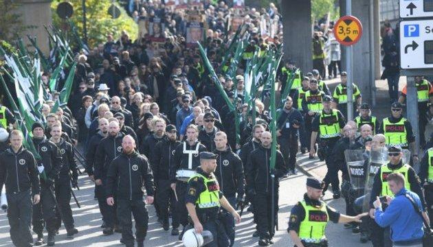 У Швеції затримали десятки осіб під час маршу неонацистів