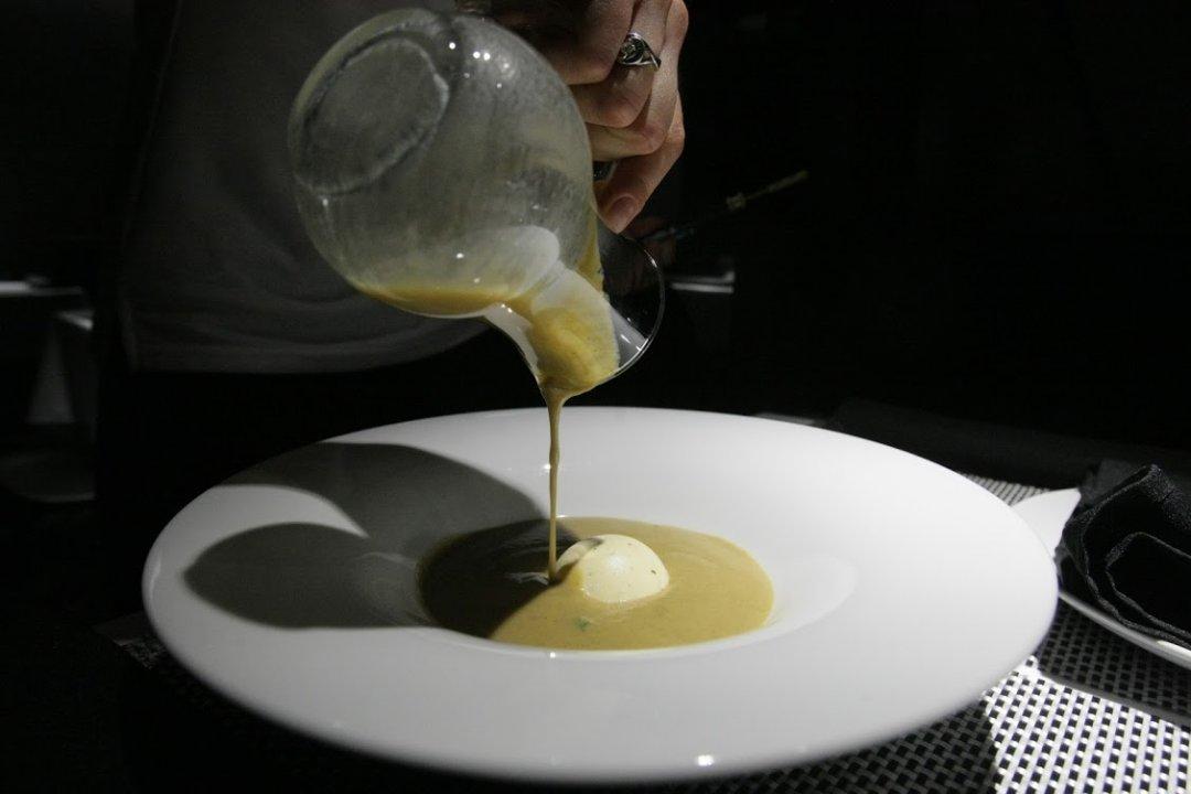 Суп-пюре із грибів
