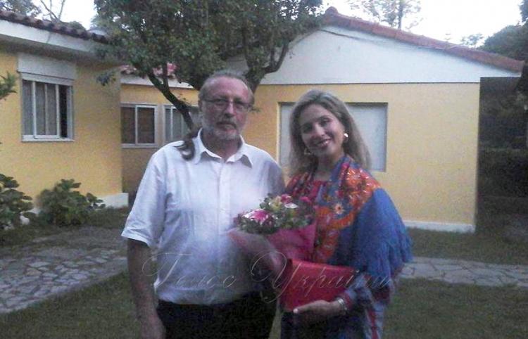 На фото (зліва направо) керівник товариства