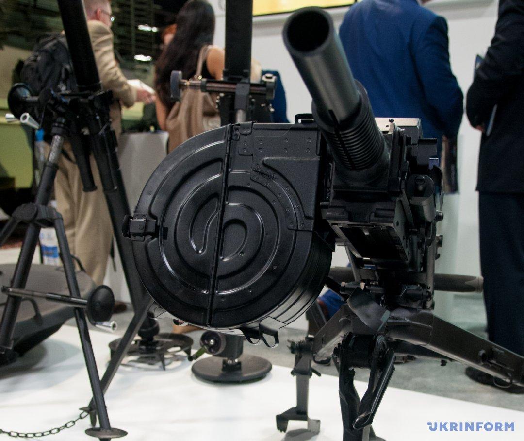 автоматичний гранатомет КВА.117