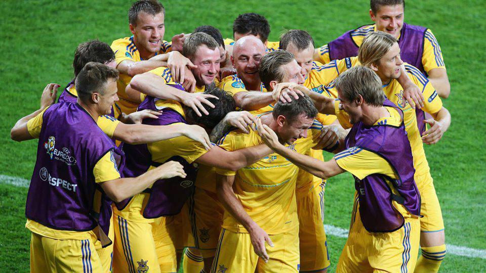 Два голи Шеви на 55 та 61 хвилині і перша та єдина перемога України на Євро-2012 назавжди у пам'яті // Фото: УЕФА