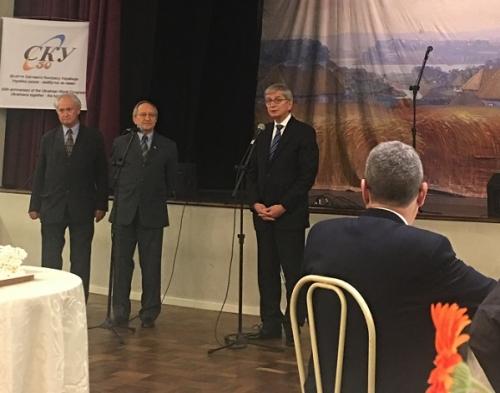 Зліва направо: В.Соротюк, М.Чайковський та Е.Чолій