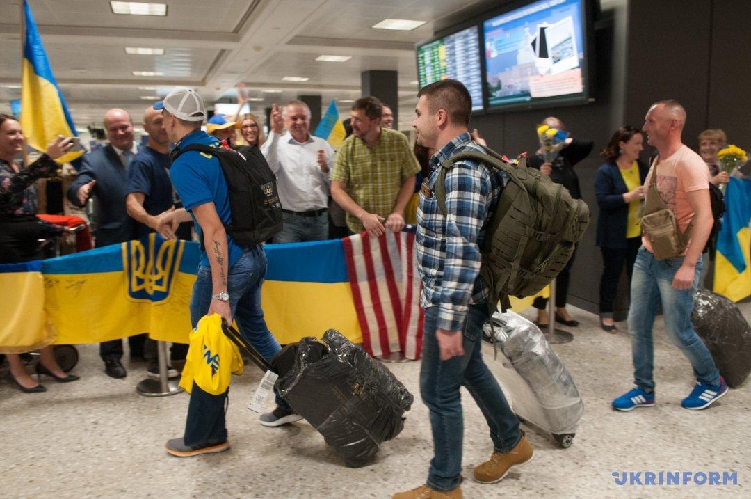 Украинские военные побегут вМарафоне морской пехоты США