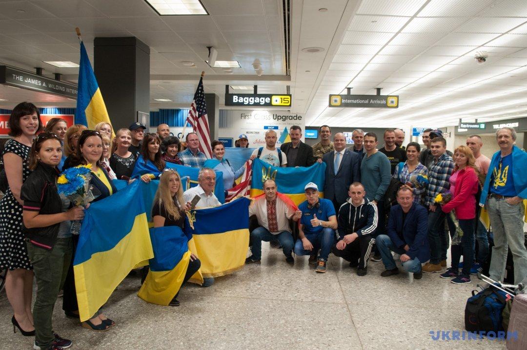 Ветераны АТО приняли участие вМарафоне морской пехоты