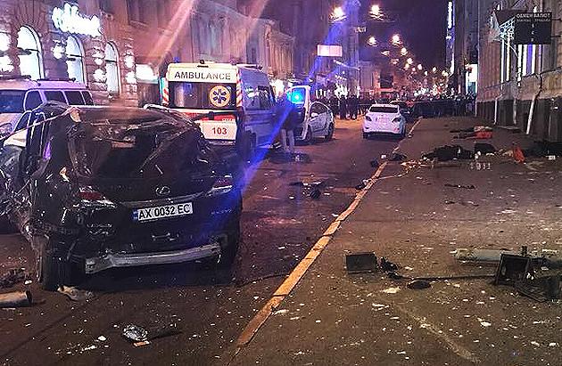 ДТП в Харкові // Фото: newsroom.kh.ua