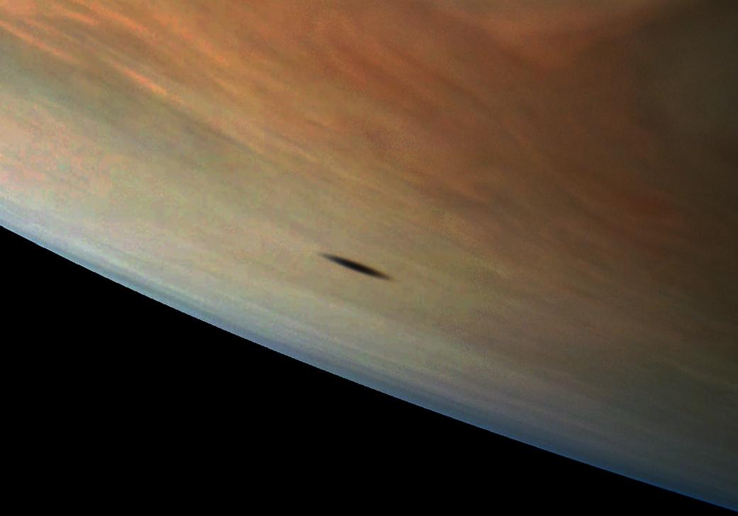 NASA показало увлекательное фото поверхности Юпитера
