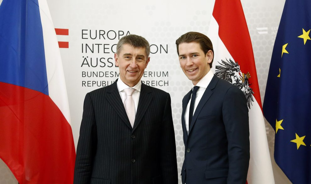 Андрій Бабіш та Себастьян Курц
