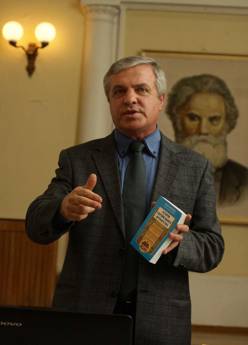 Микола Тимошик - відомий дослідник творчості Івана Огієнка