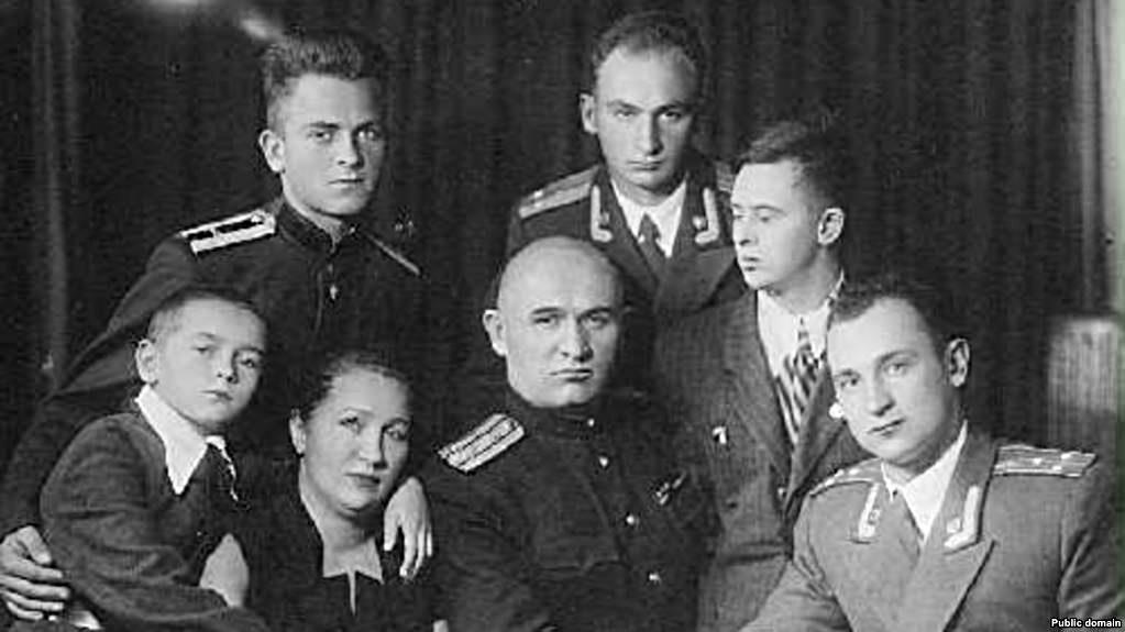 Сім`я Петра Григоренка. 1955 рік