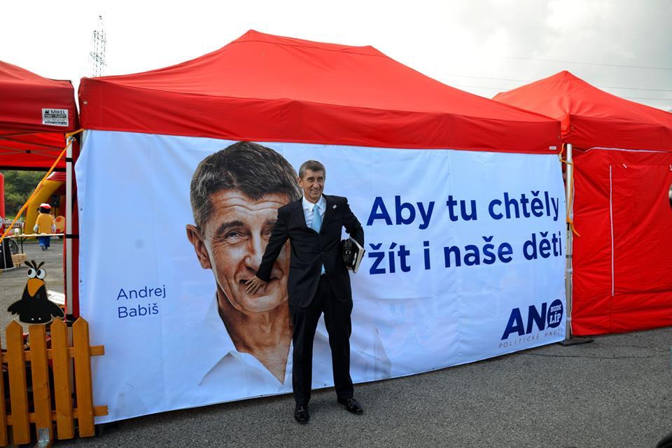 Андрей Бабиш / Фото с Фейсбука партии ANO
