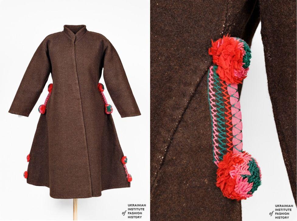 Поліська жіноча свита - латуха. Початок ХХ століття. Волинська область, Ратнівський район