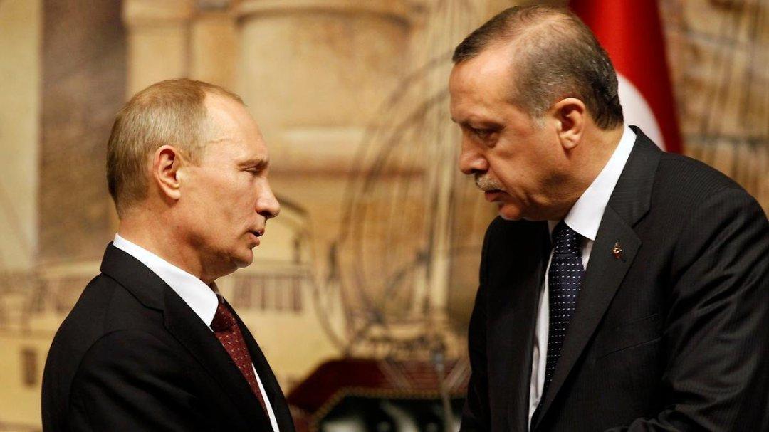 Президенти Росії і Туреччини: Володимир Путін і Реджеп Ердоган