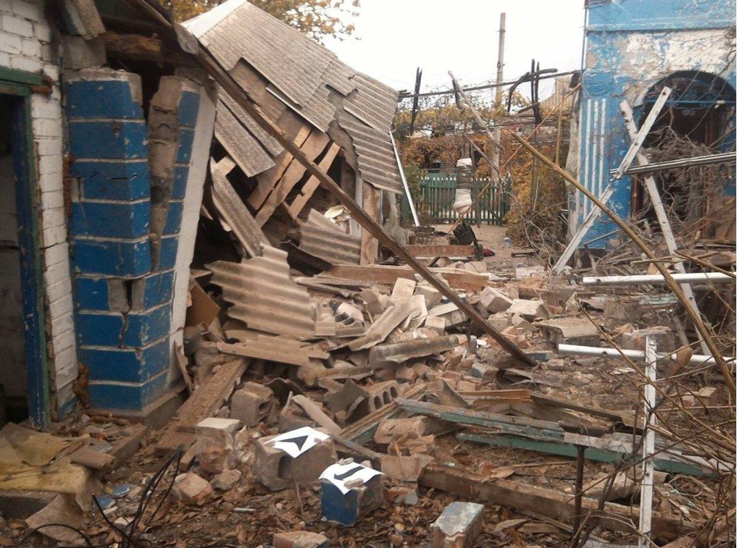 Украинская сторона СЦКК зафиксировала разрушения отобстрела Широкино