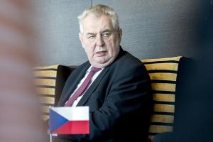 Больного Земана предлагают временно лишить полномочий президента Чехии
