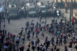 В Египте массовые протесты, полиция применила слезоточивый газ