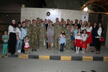 Українські військові після навчань у Йорданії насолодилися концертом від діаспори