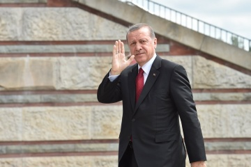Aujourd'hui, Recep Erdoğan est en visite officielle en Ukraine