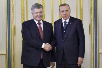 Ucrania y Turquía acuerdan incrementar el intercambio comercial hasta los 10 mil millones de dólares