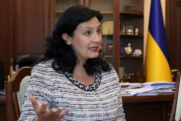 Klympusch-Zynzadse schätzt optimistisch Aussichten des Wachstums ukrainischer Wirtschaft