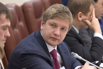 Naftogaz CEO Kobolev to take part in trilateral talks on gas transit