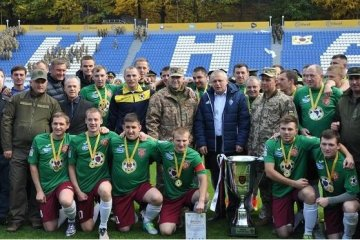 Le club de football le «Régiment présidentiel» a gagné la Coupe des Héros de l'ATO