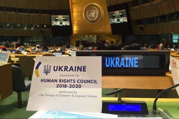 Ukraine elected to UN Human Rights Council