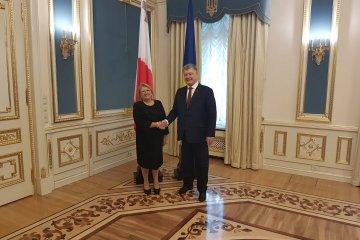 Ukrainian, Maltese presidents meet in Kyiv