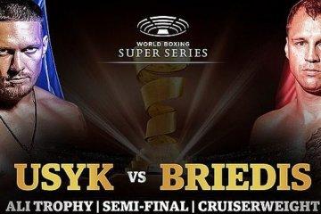 Boxeo: Pelea Usyk - Briedis tendrá lugar en Arabia Saudí