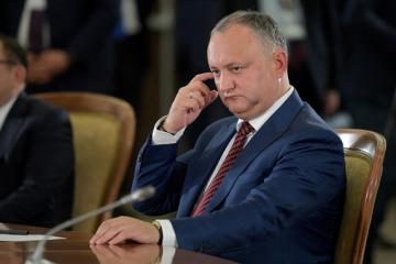 Dodon quiere discutir la agenda de las relaciones bilaterales con Zelensky