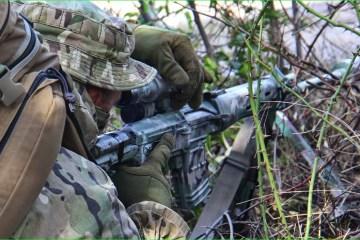 Le bilan de l'ATO : un militaire ukrainien a été blessé