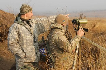 One Ukrainian soldier killed, one wounded, one injured in Donbas