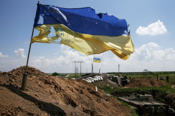 Militants launched 13 attacks on Ukrainian troops in Donbas in last day
