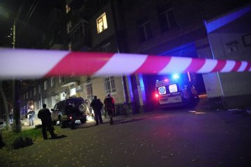 Two men killed in Kyiv blast