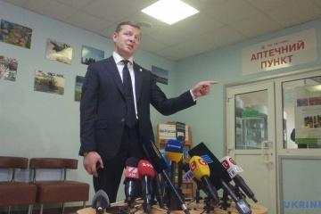 リャシュコ急進党党首に与党議員への暴行容疑伝達