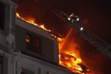 Un foyer de déplacés a brûlé à Kyiv