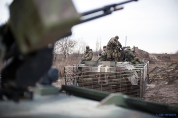 Two Ukrainian soldiers wounded in Donbas