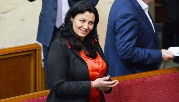 Климпуш-Цинцадзе привітала українців із Різдвом