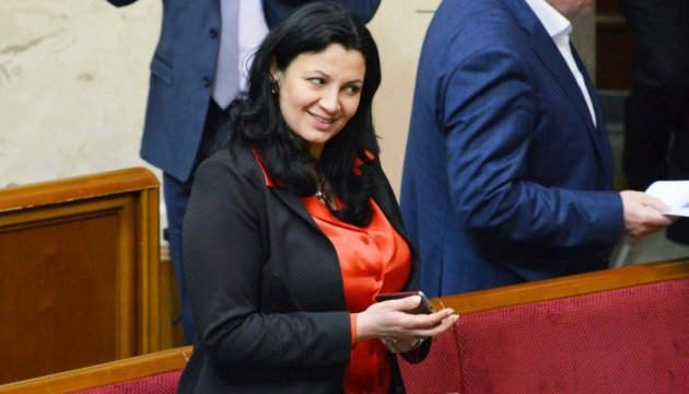 Климпуш-Цинцадзе поздравила украинцев с Рождеством