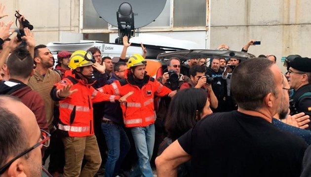 Референдум в Каталонии: медики насчитали 844 раненых