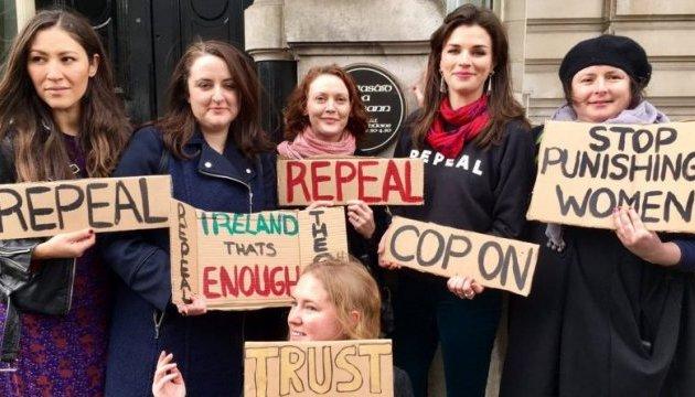 В Ірландії у травні проведуть референдум щодо легалізації абортів