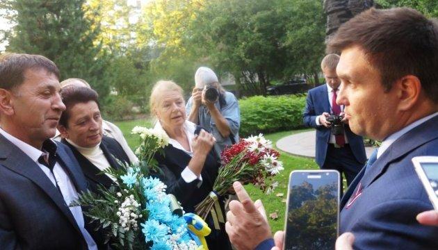 Клімкін у Латвії зустрівся з українською громадою