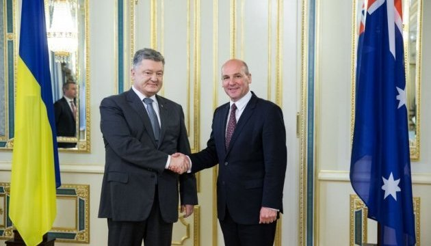 President Poroshenko, Head of Australian Senate discuss progress of investigation into MH17 crash