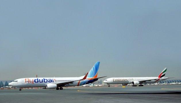 Для українців з'явилася можливість зручного стикування рейсів flydubai та Emirates