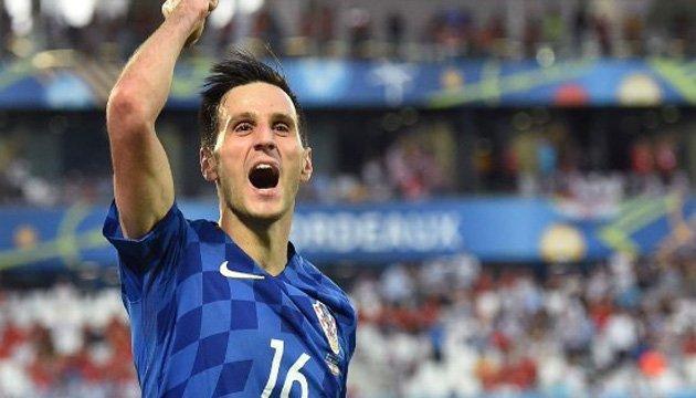 Футбол: хорватський форвард Калинич не зіграє проти України
