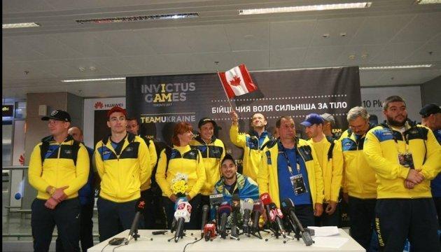 La selección ucraniana regresa de los Invictus Games
