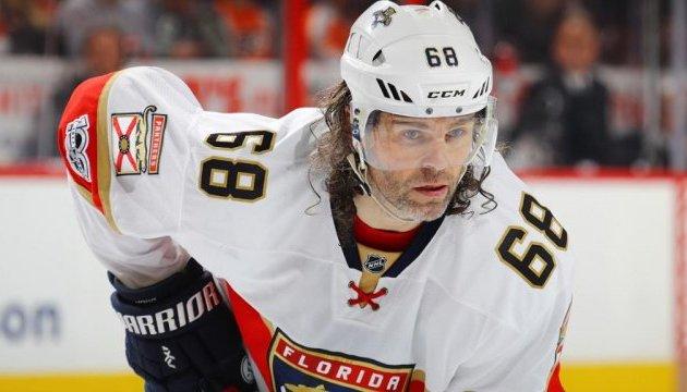 45-летний Яромир Ягр продолжит играть в НХЛ