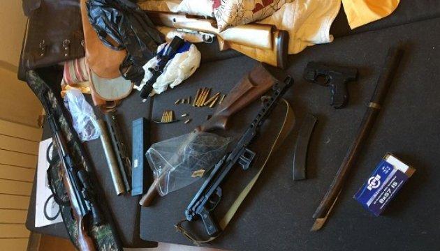 У киевлянина нашли арсенал оружия